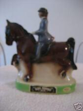 EZRA BROOKS  1974 HORSE & jockey decanter RARE!