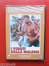 steve reeves i pirati della malesia umberto lenzi emilio salgari #dvd sigillato@