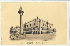 VENEZIA  ANTICA CARTOLINA  FORMATO PICCOLO PALAZZO DUCALE 68296