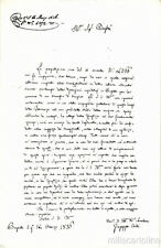 * GIUSEPPE VERDI - Feste I° Centenario 1913 - Al Podestà di Busseto 1836