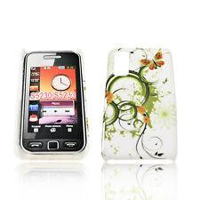 Design No.1 Handy Back Cover Case Hülle  für Samsung S5230  + Displayschutzfolie