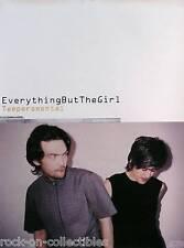Everything But The Girl 1999 Temperamental Original Promo Poster
