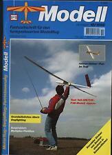 Fachzeitschrift Modellflug 10/98 Voll GfK CfK F3B Modell Space Dogfighting Fox
