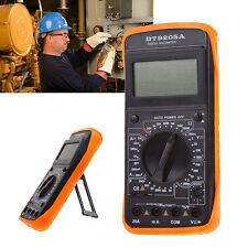 DT9205A Digital Multimeter LCD AC DC Ammeter Resistance Capacitance Tester US