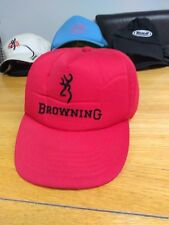 Browning baseball cap clubman - snap cap hat collectable red sport