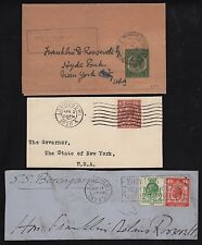 GREAT BRITAIN (3) DIFF CVR FRONTS ADDRESSED TO GOV. FDR EX-FDR COLLECTION BR8463