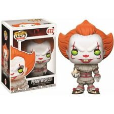 Pennywise With Boat Funko Pop Vinyl 472 Figure It 2017 Stephen King Clown Horror