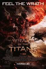 WRATH OF THE TITANS Movie POSTER E 27x40 Sam Worthington Liam Neeson