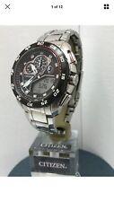 Citizen Men's Eco-Drive Promaster Super Sport Chrono Bracelet Watch JE0111-55E