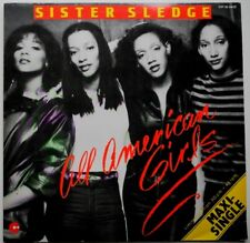 "12"" DE**SISTER SLEDGE - ALL AMERICAN GIRLS (COTILLION '81 / LIMITED)**29748"