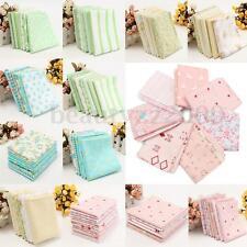 5 Sizes 6/7PCS Cotton Fabric Cloth Patchwork Mixed Bundle Sewing Crafts Kits HOT