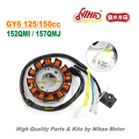 TZ-35 125cc 150cc Stator 12 Pole DC Magneto Coil GY6 Parts Chinese Scooter Motor