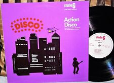 James Asher - Action Disco (Studio G) UK Library Funk Jazz Breaks LP