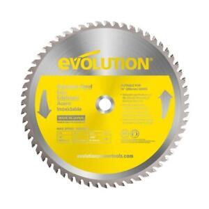 Evolution Circular Saw Blade 14 Inch 90 Teeth Stainless Steel Cutting Carbide