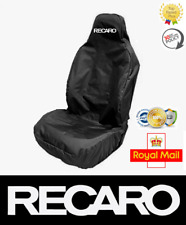 RECARO Logo Car Bucket Sports Seat Cover Protector x1 / Fits Audi Recaro Seats