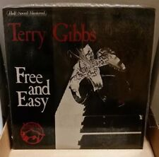 TERRY GIBBS - FREE AND EASY — 🇨🇦 Sealed — HALF-SPEED Mastered!