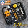 148pcs Watch Repair Tool Kit Link Remover Spring Bar Tool Case Opener Set New US