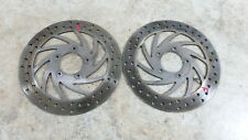 04 Aprilia Atlantic 500 Scooter front brake rotors disks