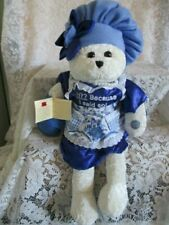 "CHANTILLY LANE MUSICAL BEAR NWT SINGS '58  HIT ""YAKETY-YAK"" (DON'T TALK BACK)"