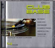 Club Base Vol. 04 - Best Clubsound 2 CD Set Folie - Sven Väth Kai Tracid Kaylab