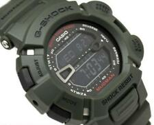 CASIO G-SHOCK MUDMAN G9000-3V G-9000-3V, MUD DIRT RESISTANT, ARMY MILITARY GREEN