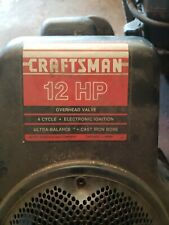 Tecumseh 12HP craftsman engine 143-376012 Craftsman OEM Engine