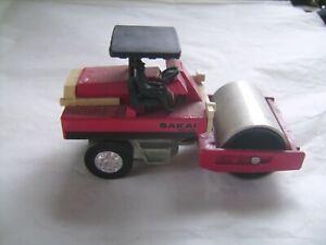 Véhicule de chantier miniature Sakai SV-100 en métal et plastique 1/60