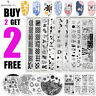 BORN PRETTY Spring Summer Nail Art Stamping Plates Image Stamp Templates Tool