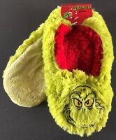 Der Grinch Damen Hausschuhe Plüsch Pantoffeln Slipper Socken 36-37-38 Primark