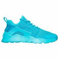 Size 12 Nike Women AIR HUARACHE RUN ULTRA BREATHE RUNNING SHOES 833292 400 Blue