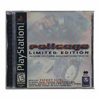 Rollcage: Limited Edition (Sony PlayStation 1, 1999) Complete w/Manual CIB