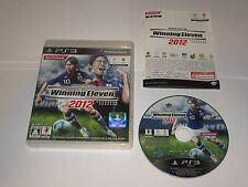 World Soccer Winning Eleven 2012 (Sony PS3, 2011) - Japan Import COMPLETE