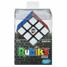 Rubik's Cube ~ Hasbro Original Brain Teaser Puzzle with Stand ~ Strategy ~ 3x3x3