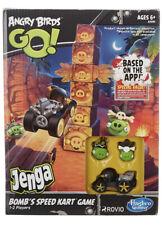 New IB Hasbro Angry Birds GO! Jenga BOMB's SPEED KART GAME 1-2 Players