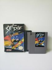 Ski or Die Nintendo NES VIDEO GAME IN BOX GOOD CONDITION