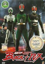 Kamen Masked Rider Black (1 - 52 End) + RX (1 - 47 End) DVD + Bonus DVD