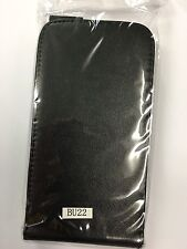 Telstra 4GX Buzz ZTE Blade Q Lux Fitted Leather Flip Case in Black ALC8188-102.