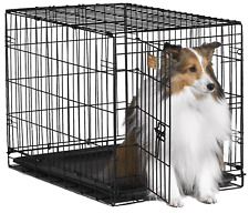 Midwest 1524 ICrate Folding Metal Dog Crate - Medium sized dogs