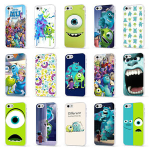 MONSTERS INC SULLI MIKE BOO DISNEY WHITE PHONE CASE COVER for iPHONE 4 5 6 7 8 X