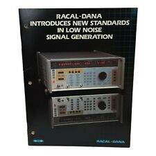 RACAL-DANA NEW STANDARDS IN LOW NOISE SIGNAL GENERATION TECHNICAL DATA SHEET