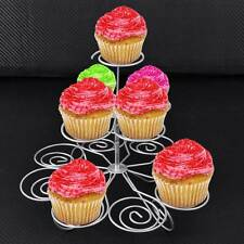 3 Tier 13 Cupcake Party Display Stand Silver Cupcake Muffin Holder