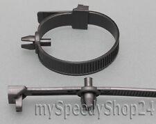 20x Kabelbinder mit Clips Befestigung Kabelbaum Elektrik Motorraum für MERCEDES