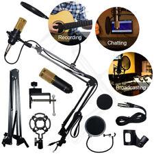 New ListingBm800 Condenser Microphone Kit Studio Pro Audio Recording Arm Stand Shock Mount