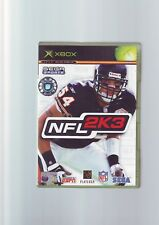 NFL 2K3 - AMERICAN FOOTBALL XBOX GAME / 360 COMPATIBLE - ORIGINAL & COMPLETE VGC