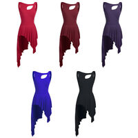 Women Ballroom Ballet Leotard Latin Dance Competition Dress Dancing Costume