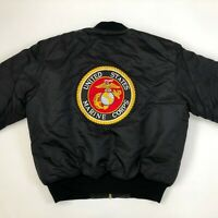 Rothco MA-1 Vintage Flyers Bomber Jacket Large L MIL-J-6141 USAF Air Force