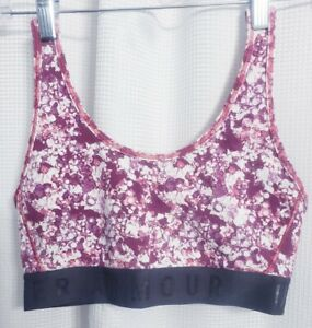 Under Armour Fitted Galaxy Splatter Sports Bra size SMALL
