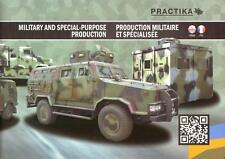 PRACTIKA MILITARY & SPECIAL VEHICLES 2015 UKRAINIAN ARMY BROCHURE PROSPEKT