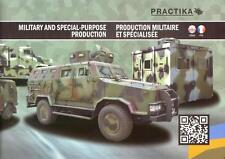 PRACTIKA MILITARY & SPECIAL VEHICLES 2015 UKRAINIAN ARMY BROCHURE PROSPEKT