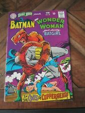 Brave and the Bold # 78 Jul 1968 Batman and Wonder Woman (and Batgirl) DC     ZC